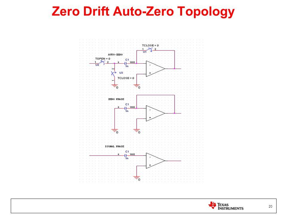Zero Drift Auto-Zero Topology