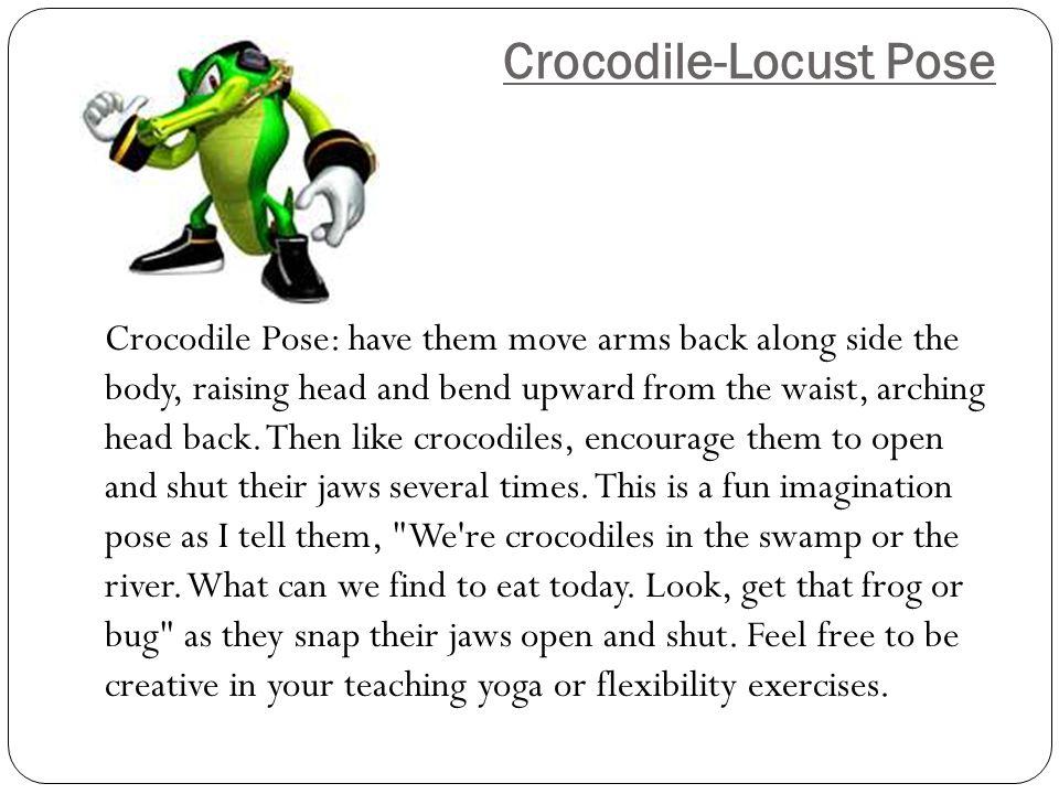 Crocodile-Locust Pose