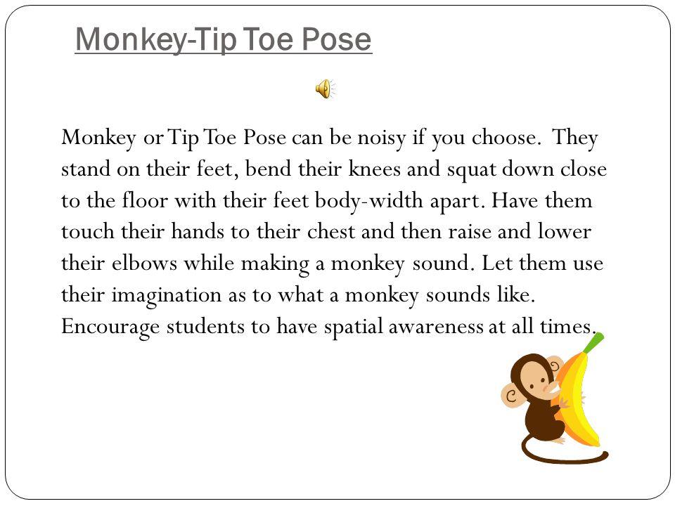 Monkey-Tip Toe Pose