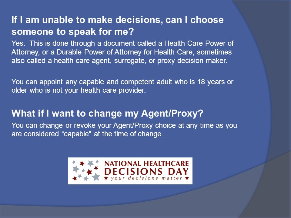 What if I want to change my Agent/Proxy
