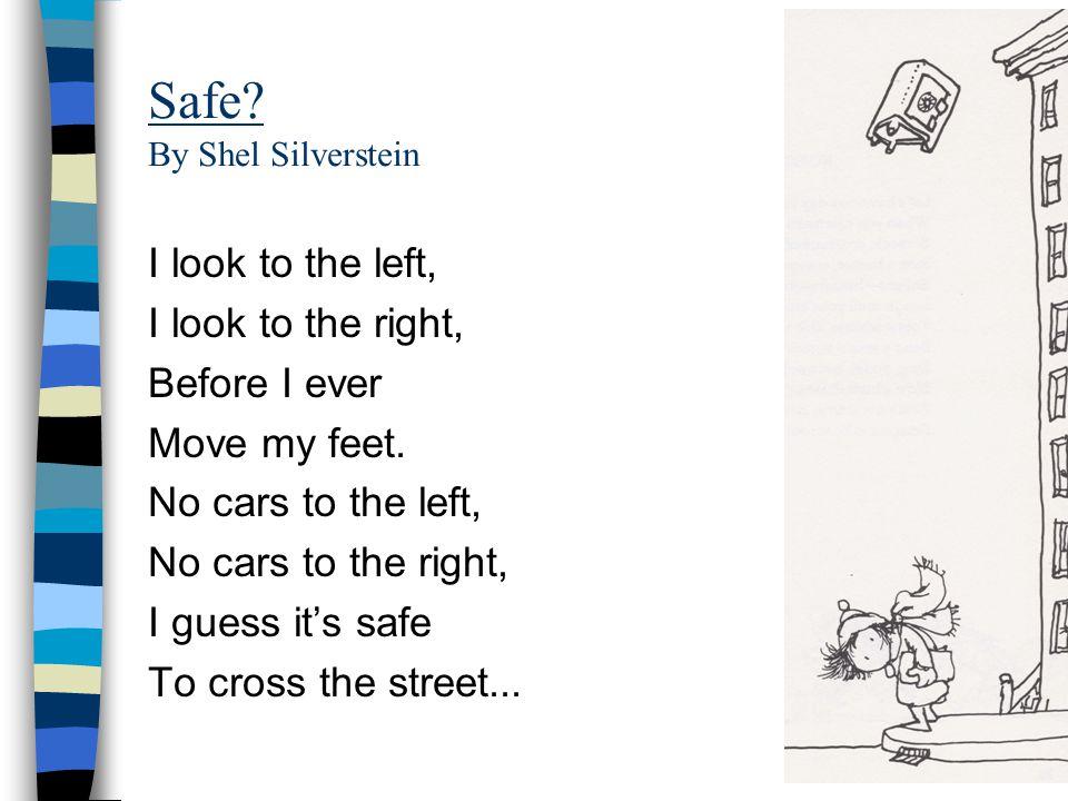 Safe By Shel Silverstein