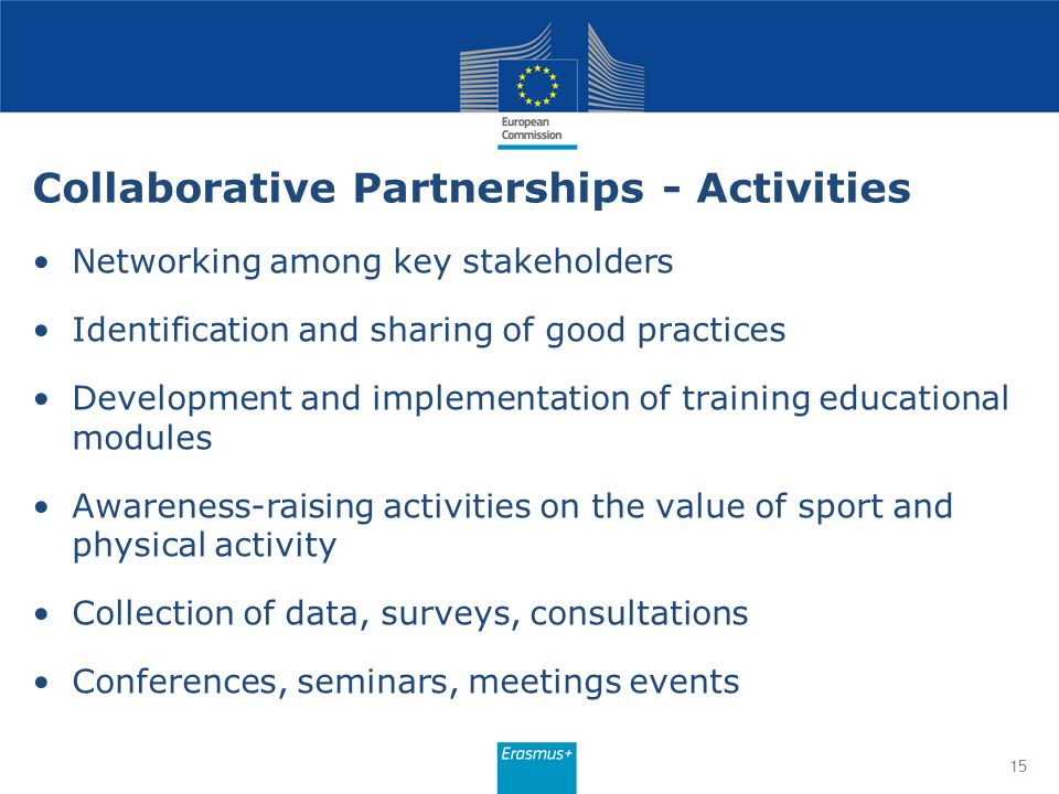 Collaborative Partnerships - Activities
