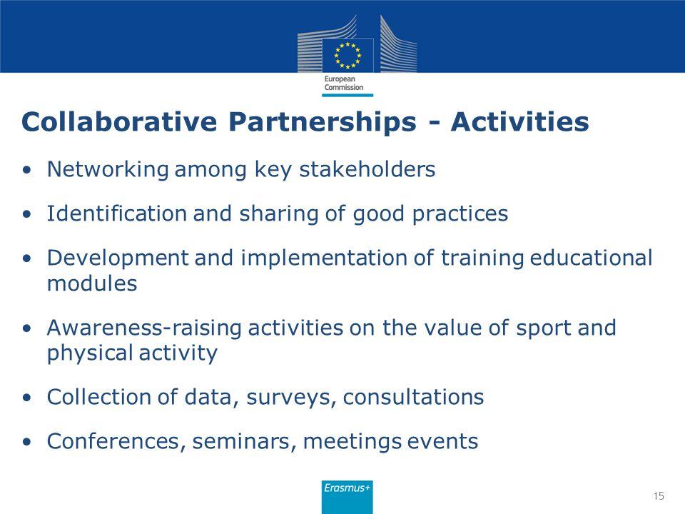 Collaborative Partnerships - Activities