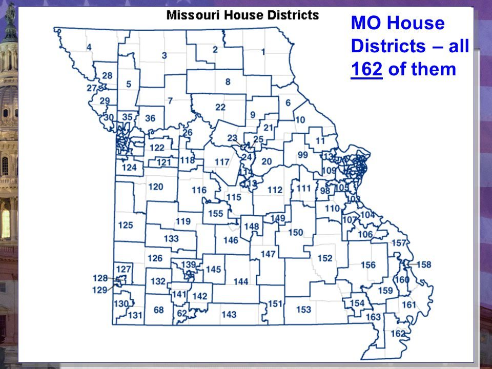 MO House Districts – all 162 of them