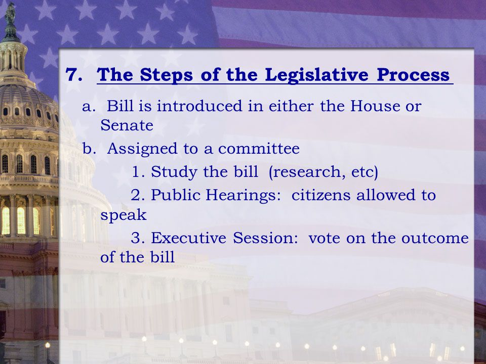 Legislative Process in the Malaysia Parliament