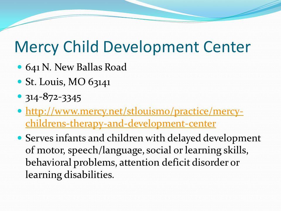Mercy Child Development Center