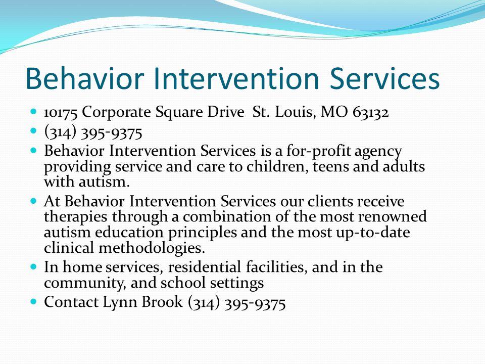 Behavior Intervention Services