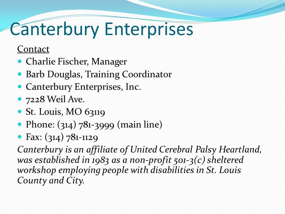 Canterbury Enterprises