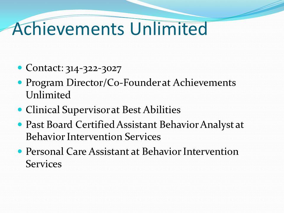 Achievements Unlimited
