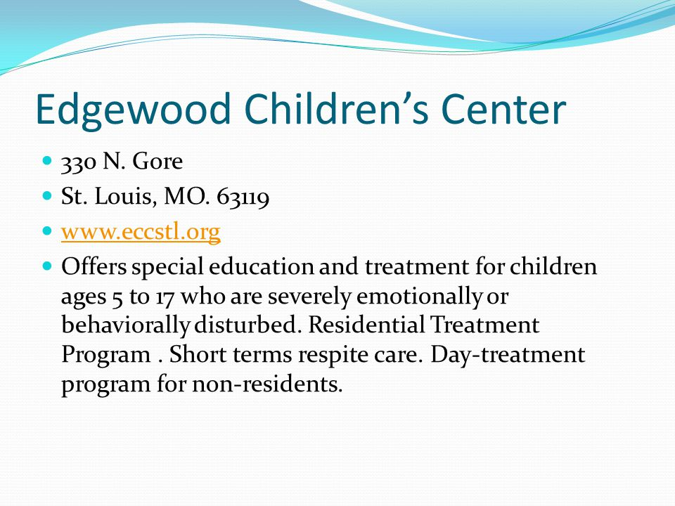 Edgewood Children's Center