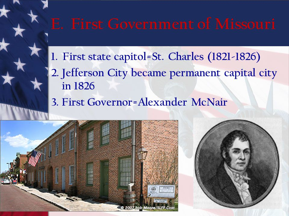 E. First Government of Missouri