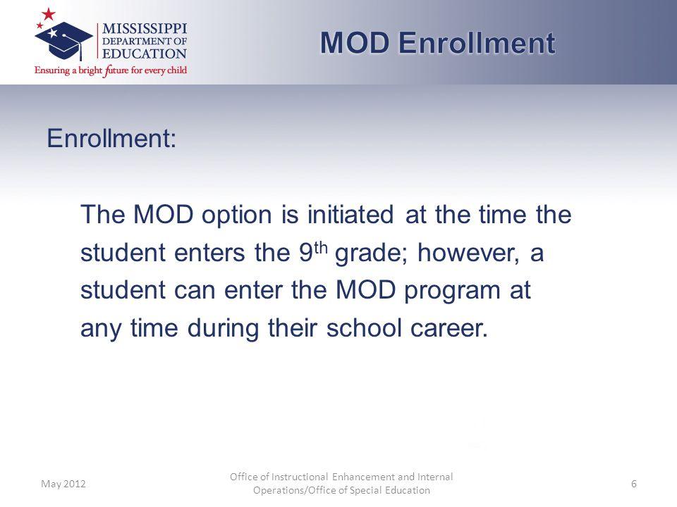 MOD Enrollment