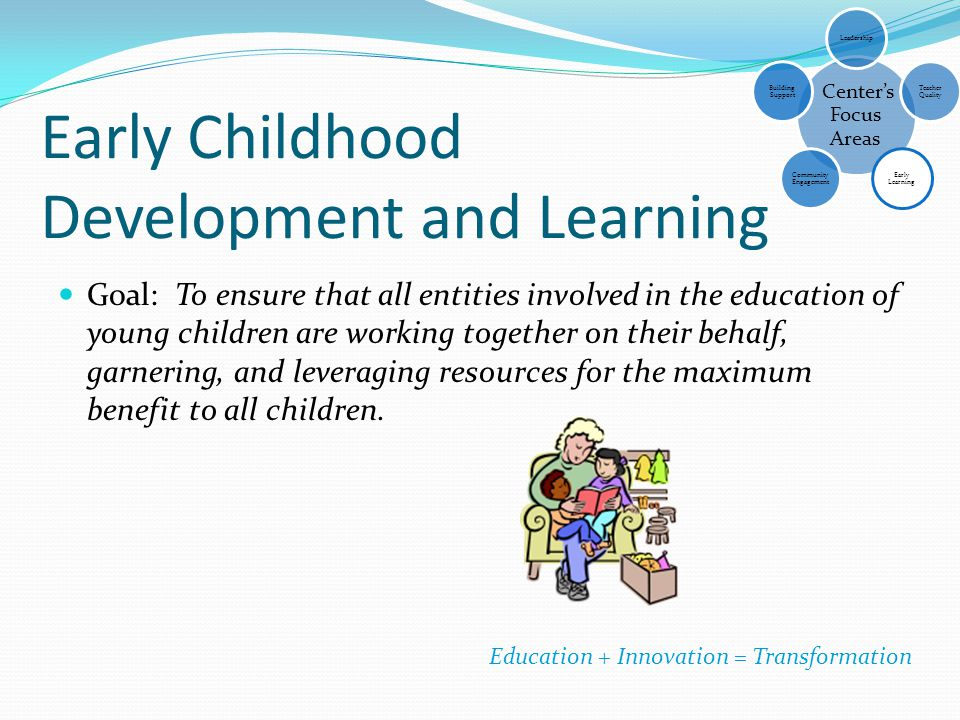 Early Childhood Development and Learning