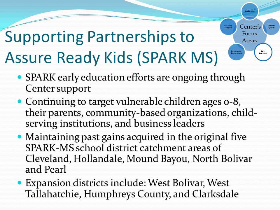 Supporting Partnerships to Assure Ready Kids (SPARK MS)