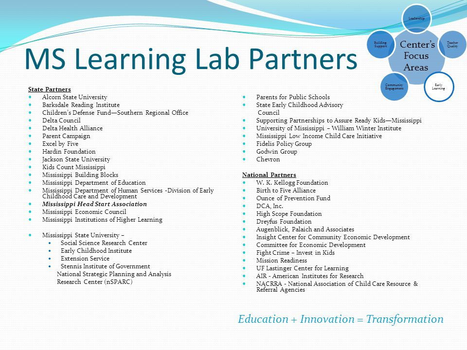 MS Learning Lab Partners