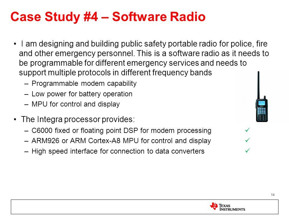 Case Study #4 – Software Radio