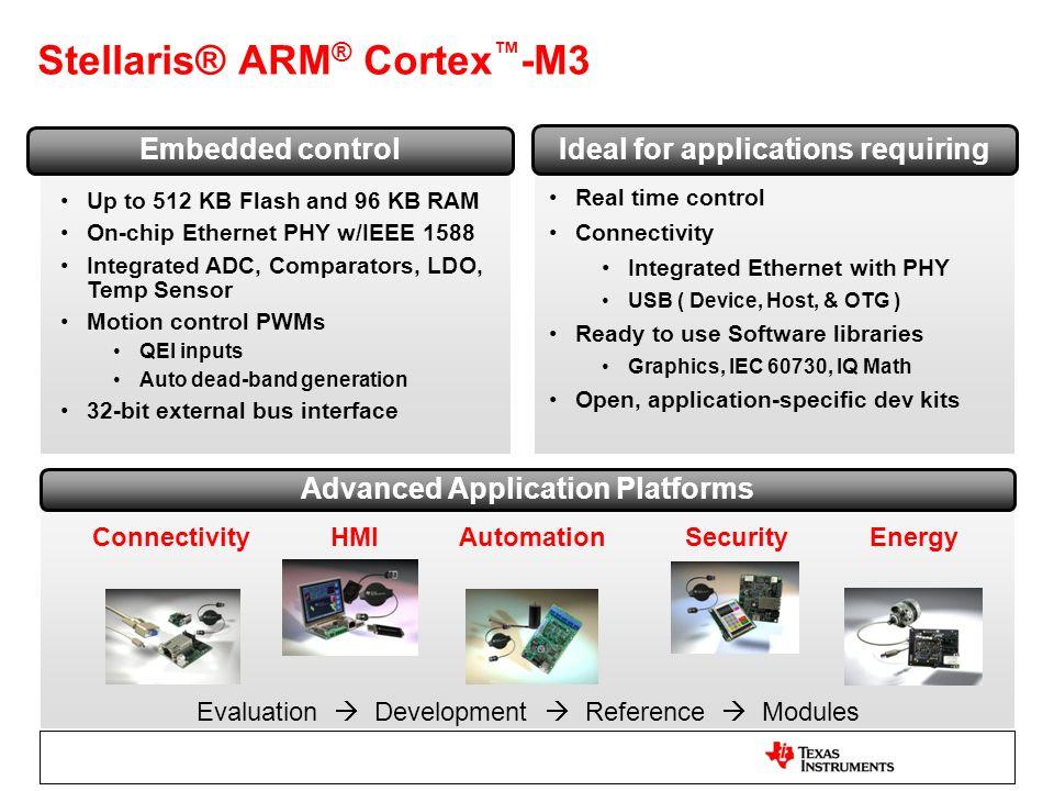 Stellaris® ARM® Cortex™-M3