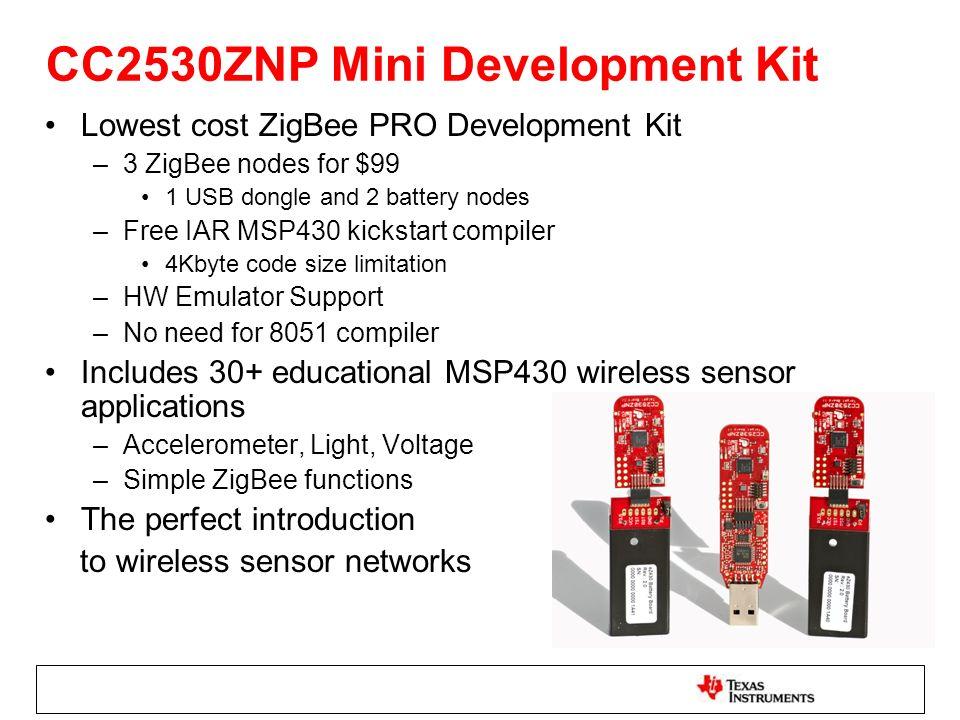 CC2530ZNP Mini Development Kit
