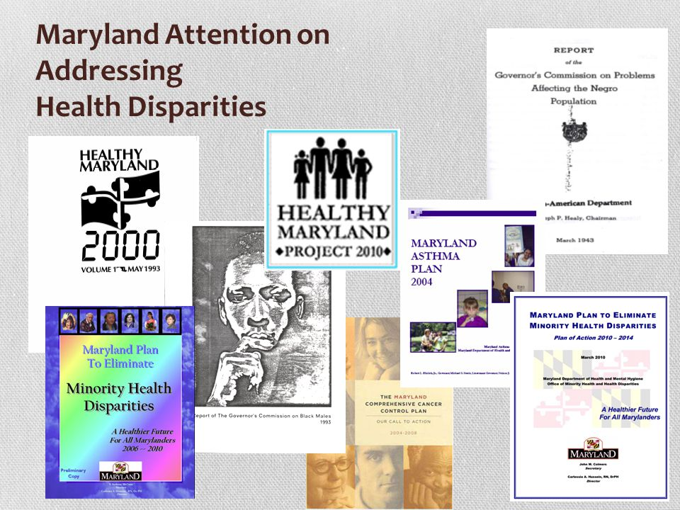 Maryland Attention on Addressing Health Disparities