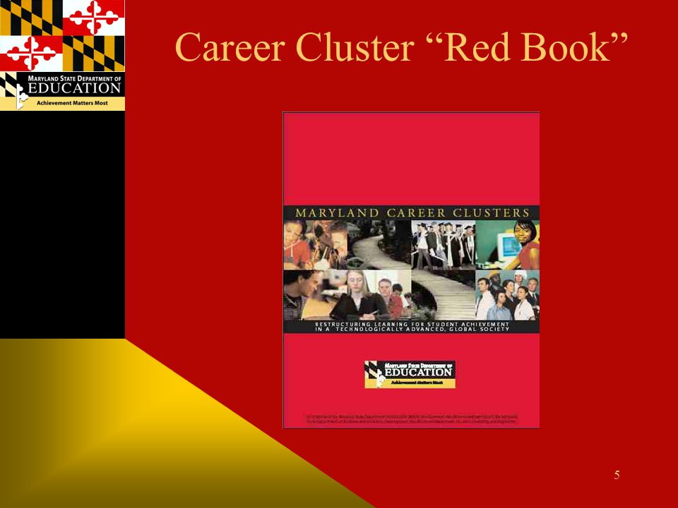 Career Cluster Red Book