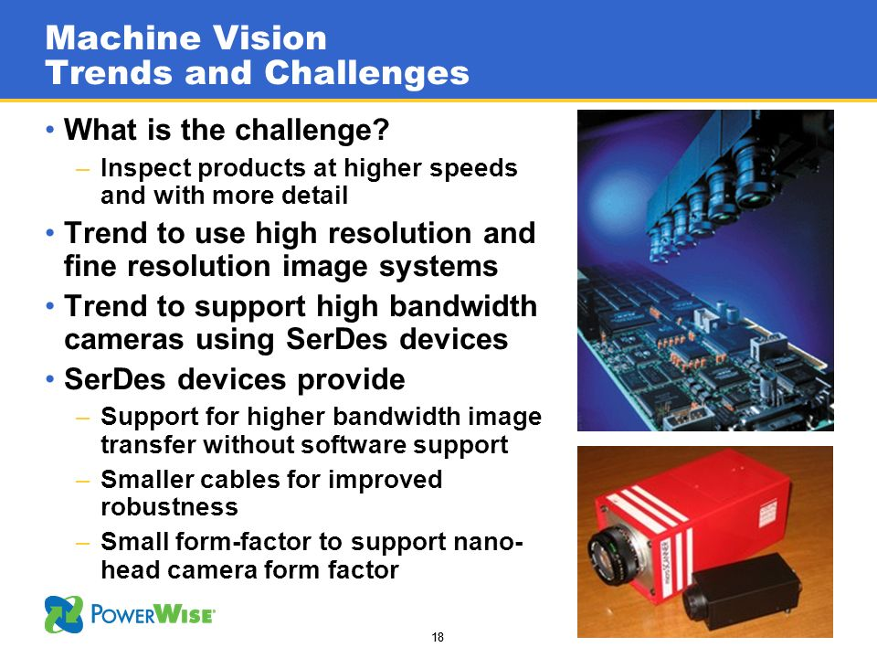 Machine Vision Trends and Challenges