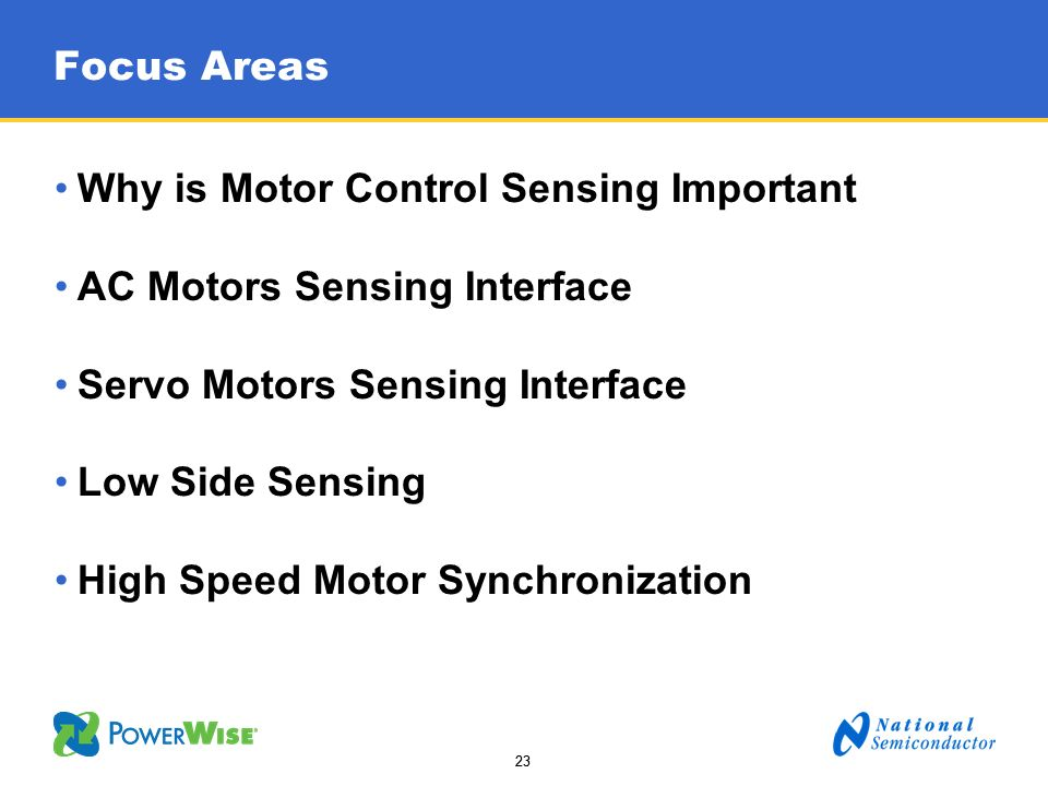 Why is Motor Control Sensing Important AC Motors Sensing Interface