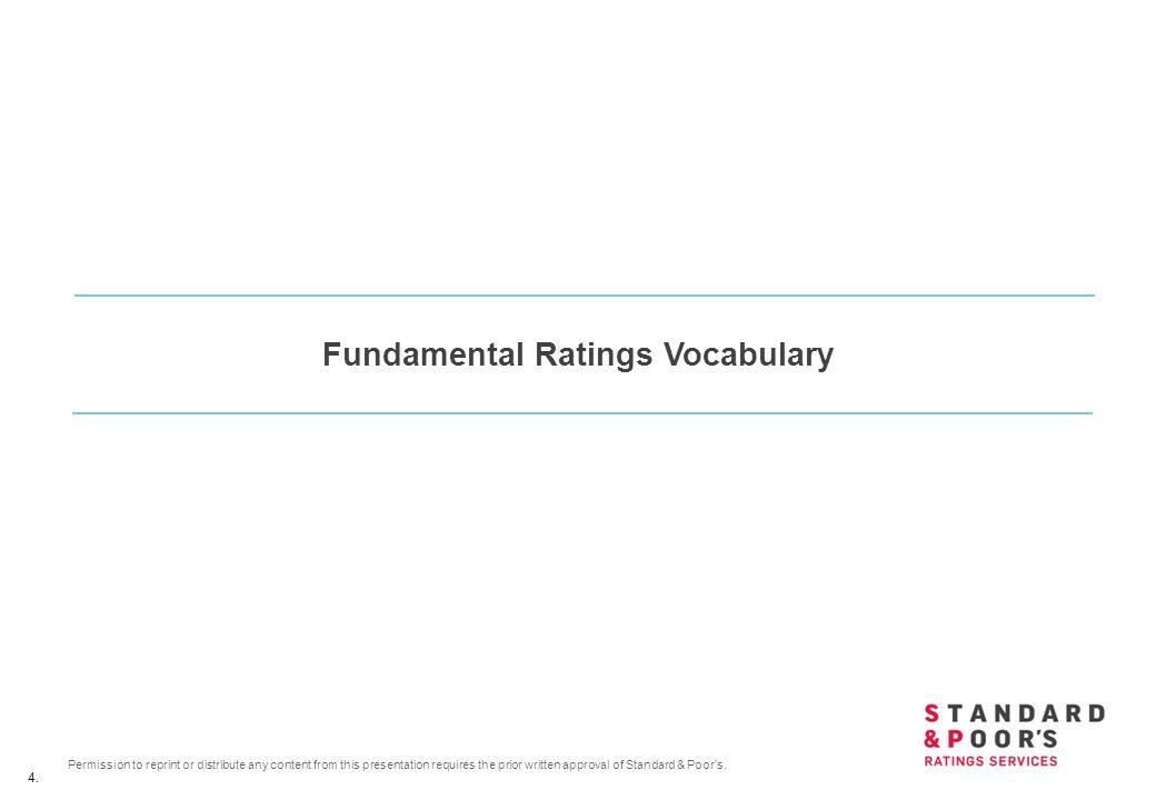 Fundamental Ratings Vocabulary