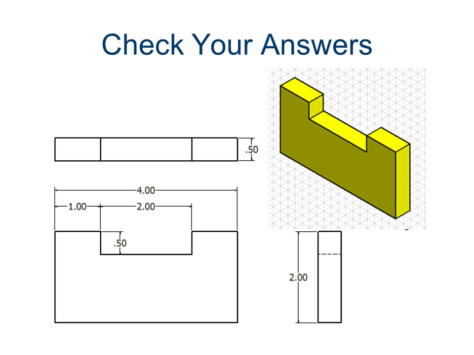 Check Your Answers Dimensioning Gateway To Technology®