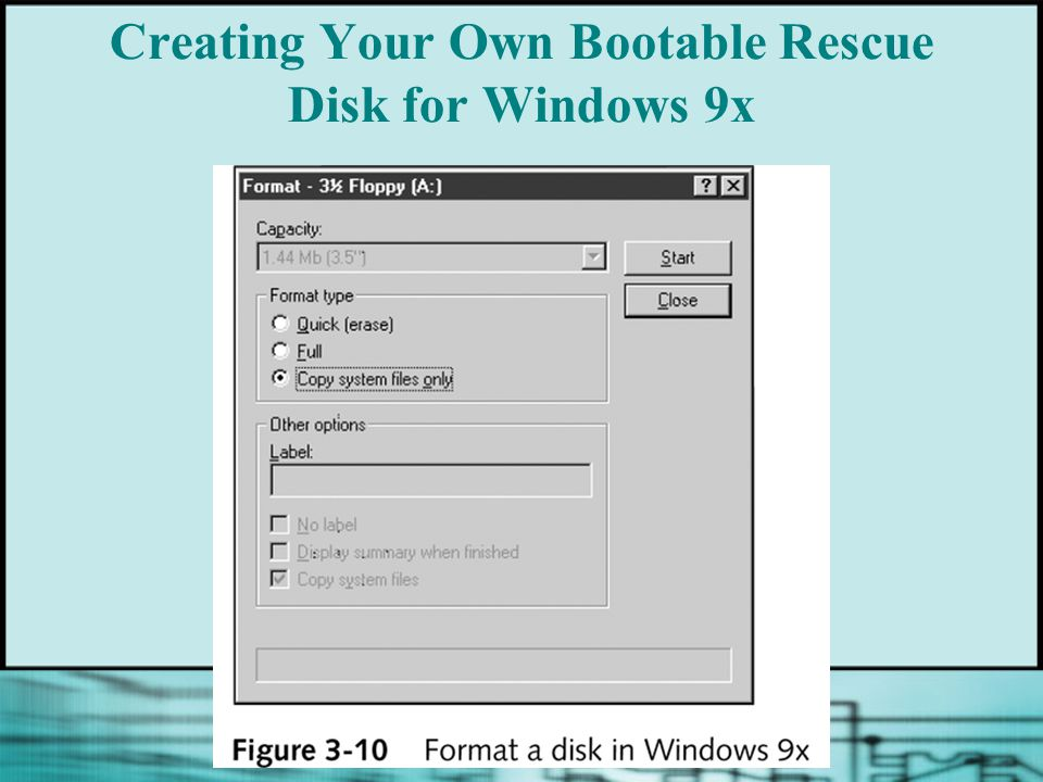 Creating Your Own Bootable Rescue Disk for Windows 9x