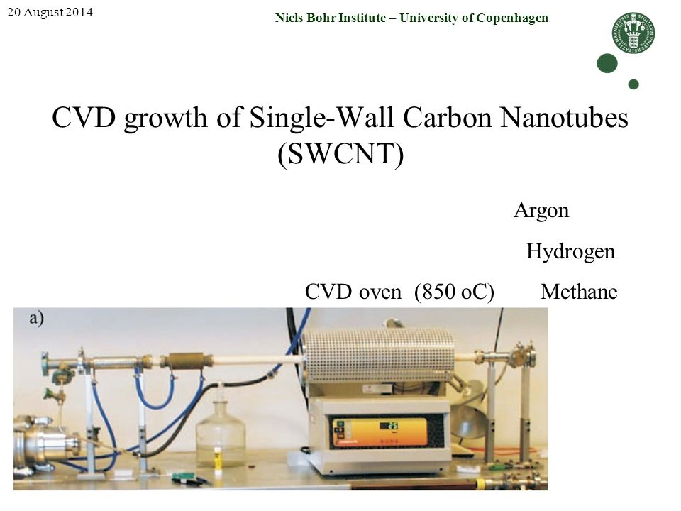 CVD growth of Single-Wall Carbon Nanotubes (SWCNT)