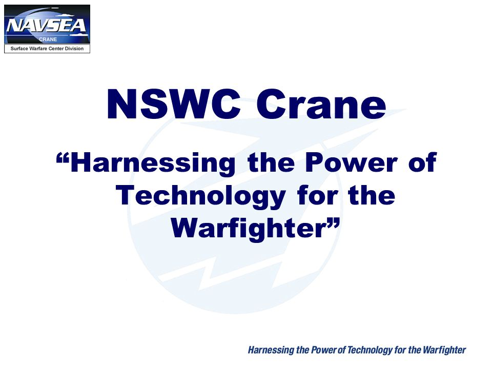 Harnessing the Power of Technology for the Warfighter