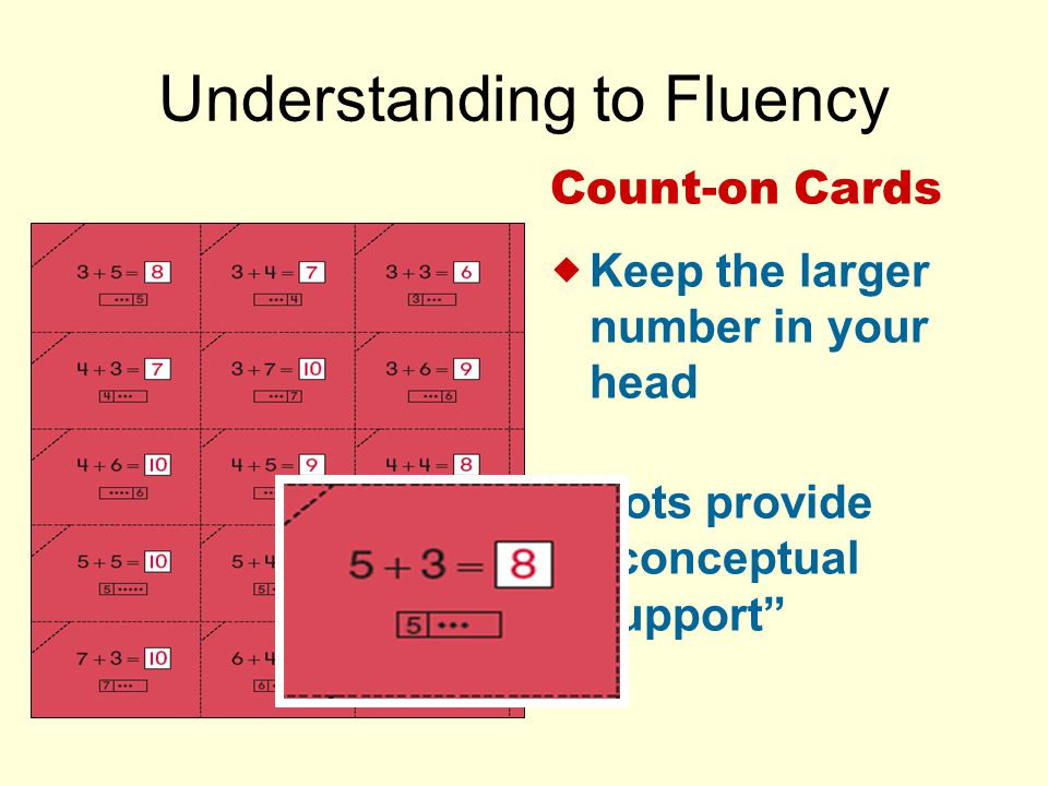 Understanding to Fluency