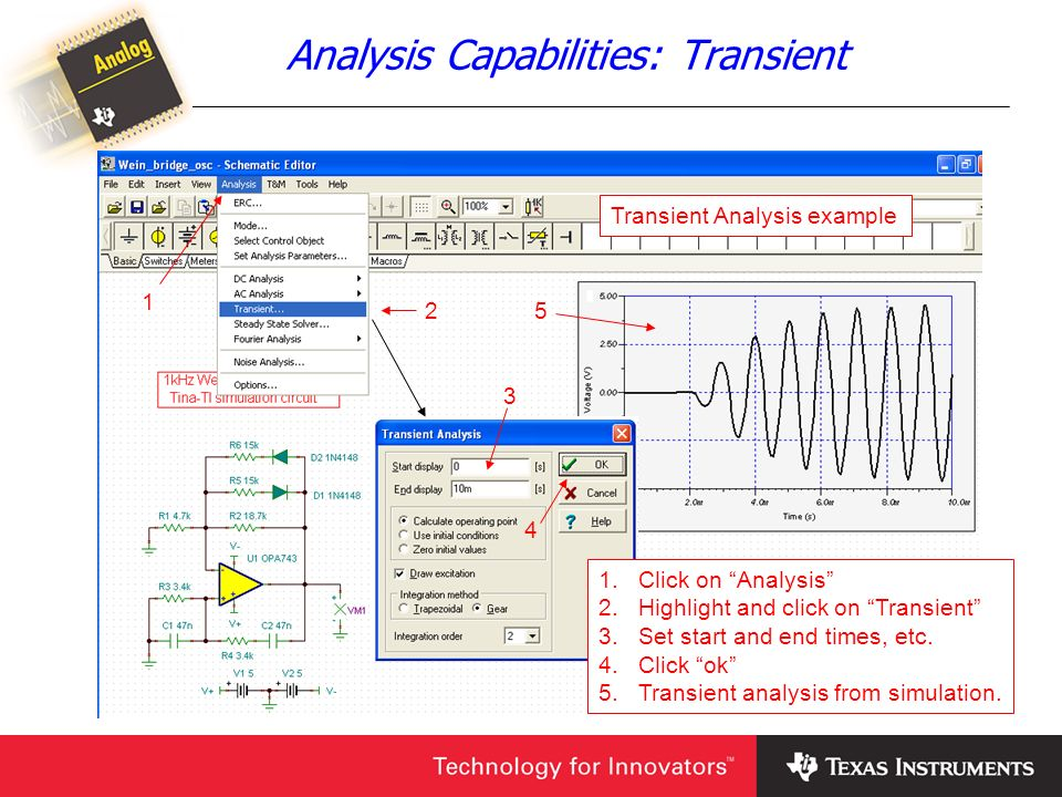 Analysis Capabilities: Transient