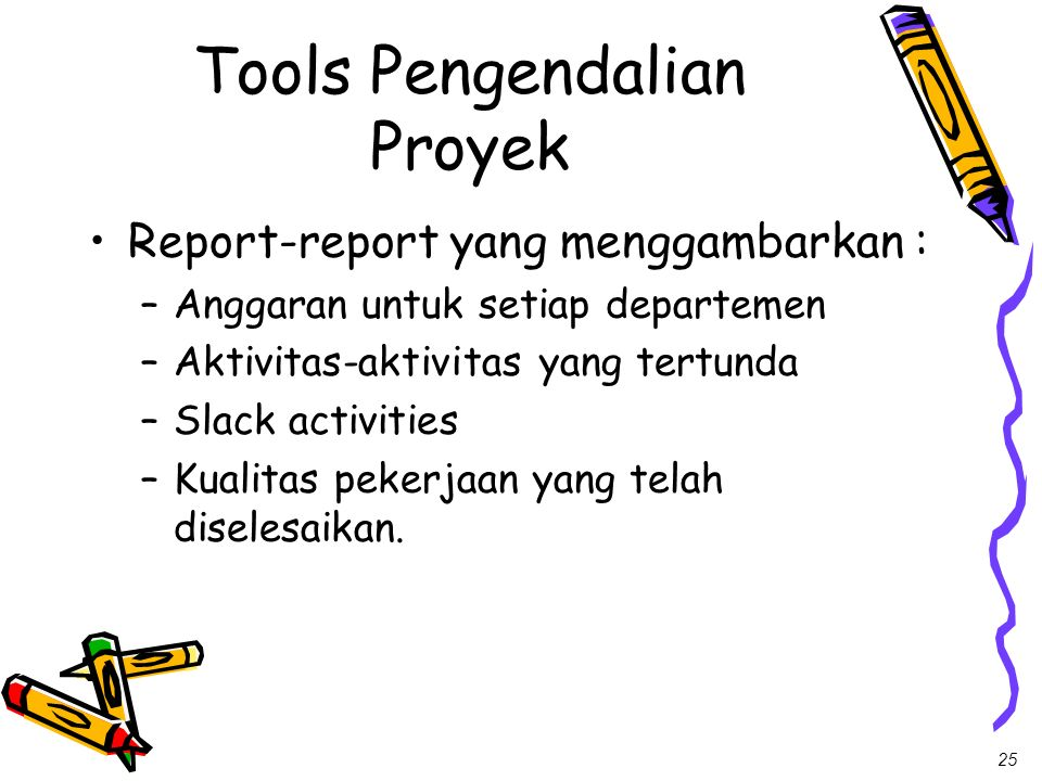 Tools Pengendalian Proyek