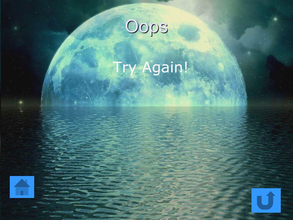 Oops Try Again!