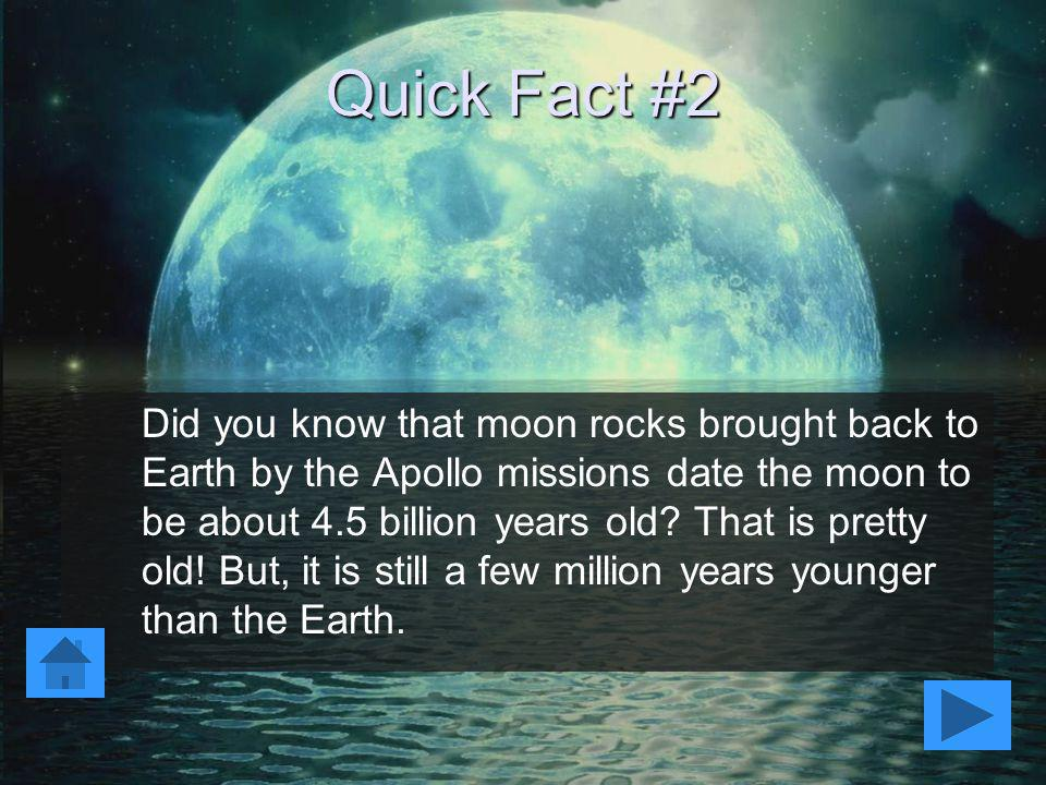 Quick Fact #2