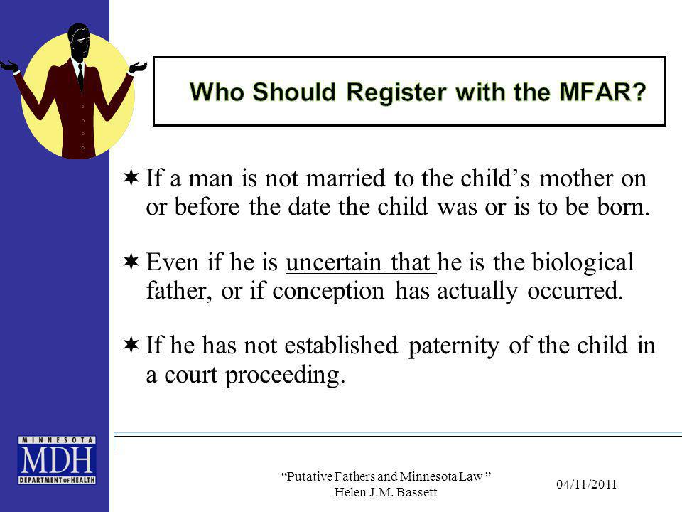 Who Should Register with the MFAR