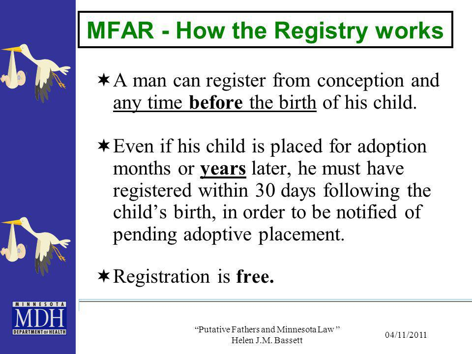 MFAR - How the Registry works