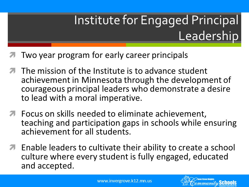 Institute for Engaged Principal Leadership