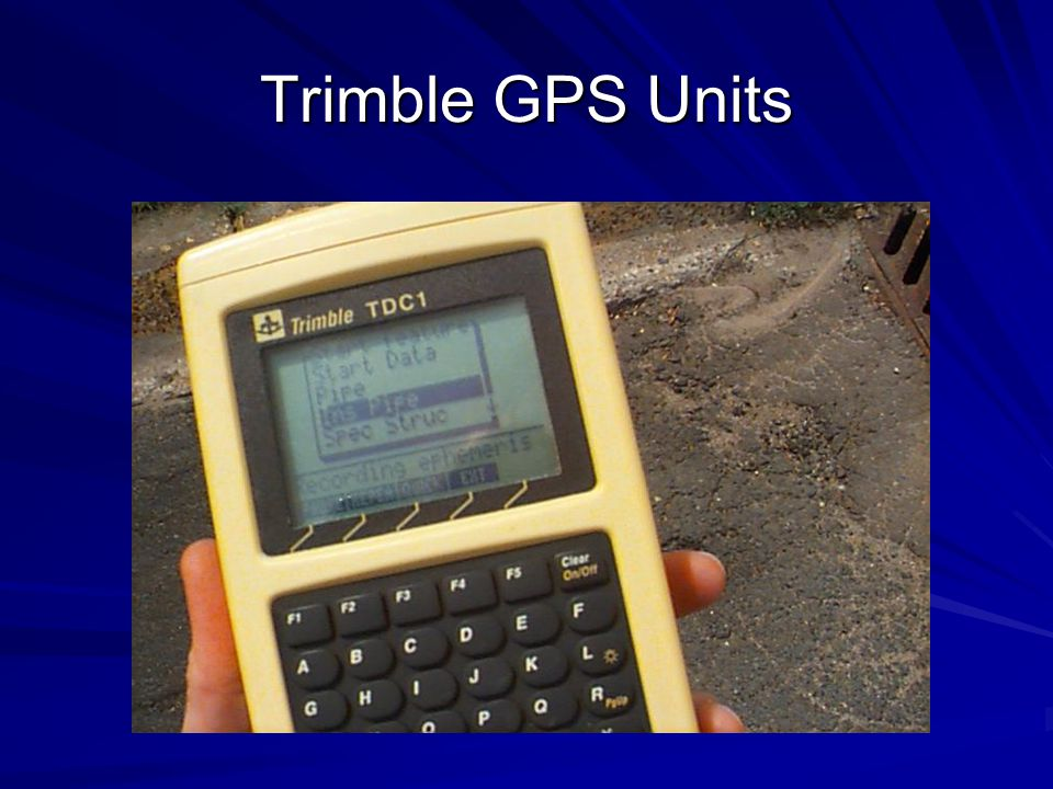 Trimble GPS Units