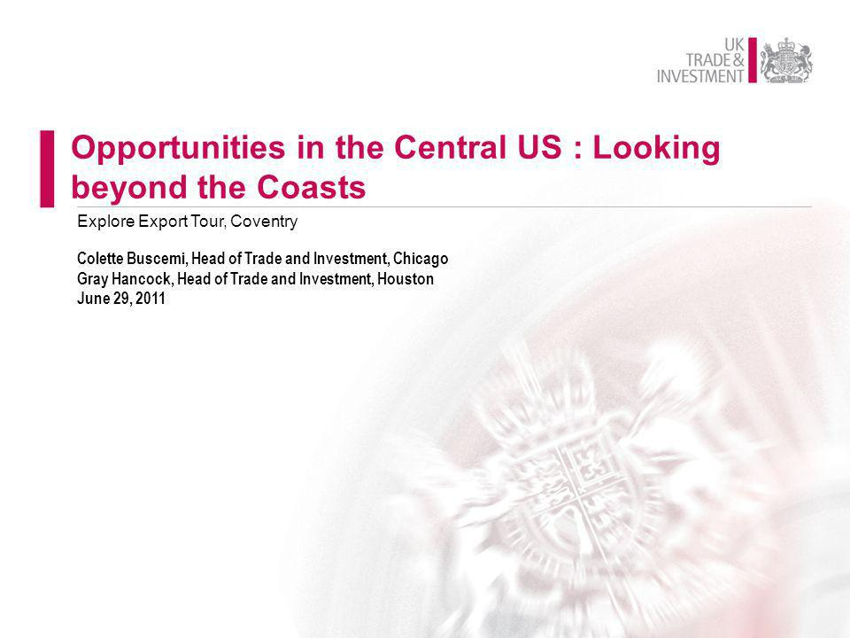 Opportunities in the Central US : Looking beyond the Coasts