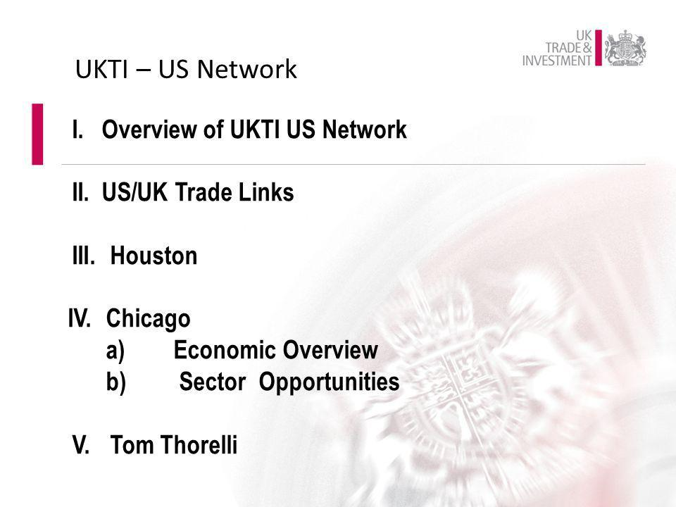 UKTI – US Network Overview of UKTI US Network US/UK Trade Links