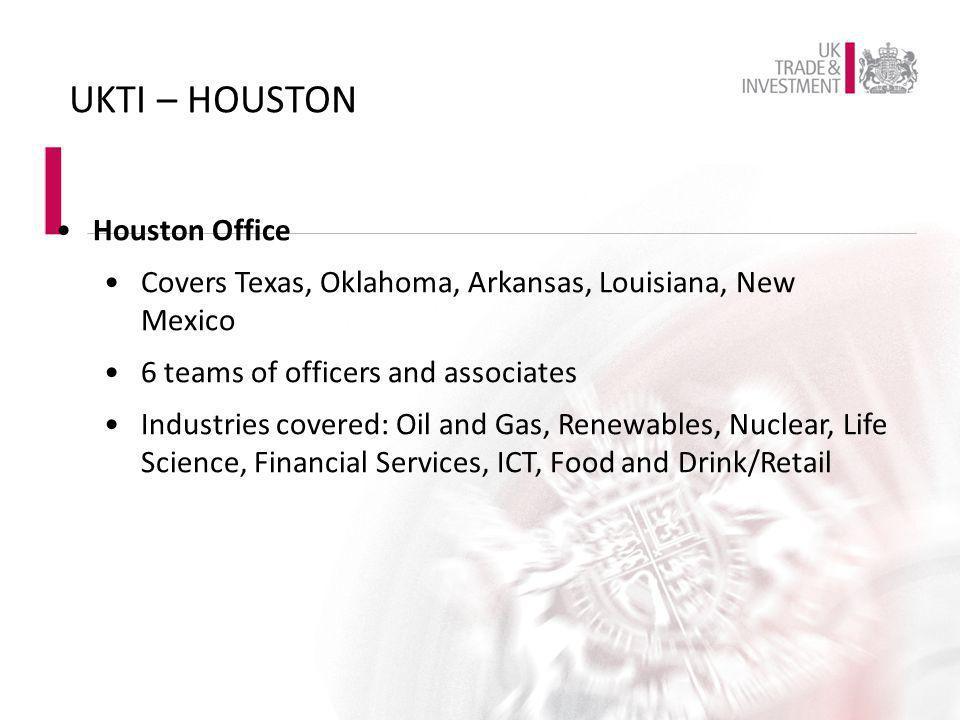UKTI – HOUSTON Houston Office