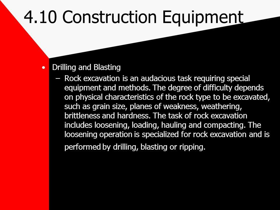 4.10 Construction Equipment