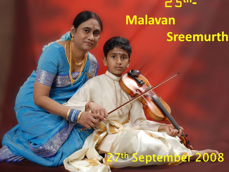25th-Malavan Sreemurthy