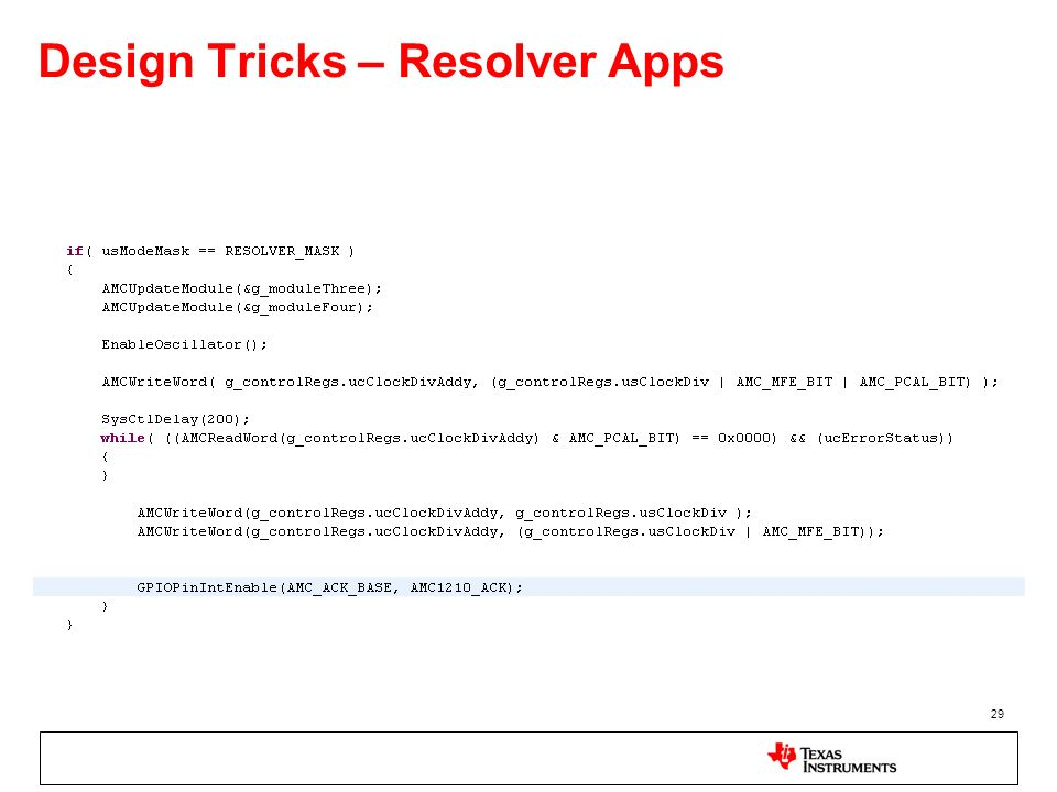 Design Tricks – Resolver Apps