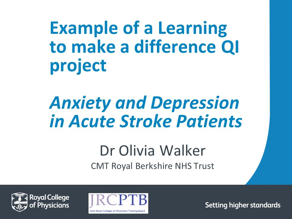 Dr Olivia Walker CMT Royal Berkshire NHS Trust