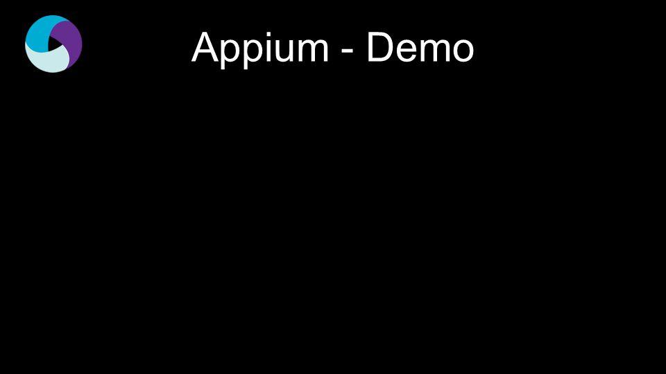 Appium - Demo