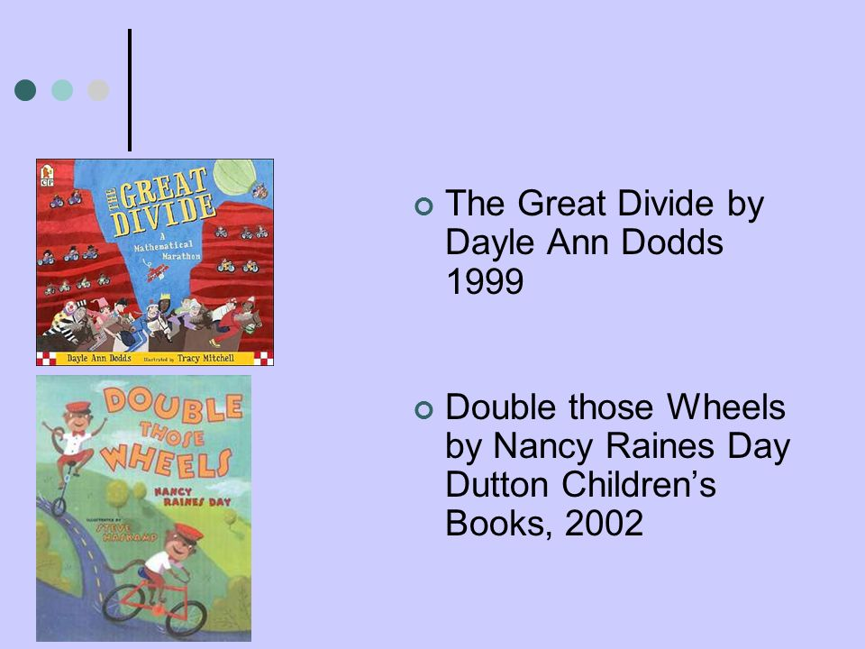 The Great Divide by Dayle Ann Dodds 1999