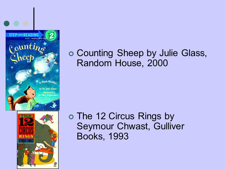 Counting Sheep by Julie Glass, Random House, 2000